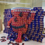 Kool Aid Man CAN Break he Walls of Hunger!!