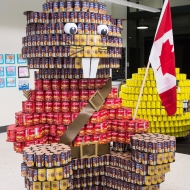 Juror's Favourite & People's Choice - Epcor - Beaver-y CANadian: Help Us Put Hunger Away